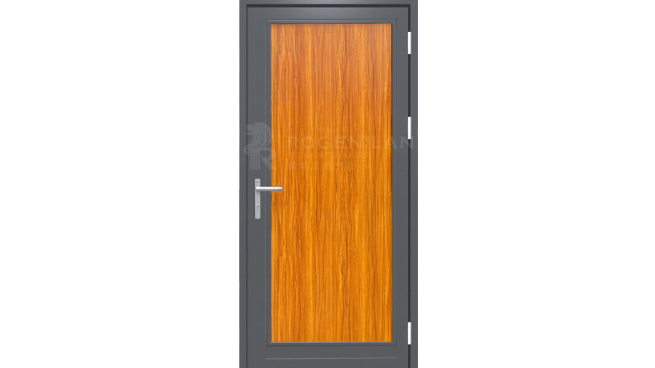 Modern luxury honeycomb aluminum metal plate front door designs