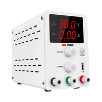 Nice Power R-SPS3010 30V 10A DC Regulated Power Supply USB Interface Digital Adjustable Switching Lab Testing Power