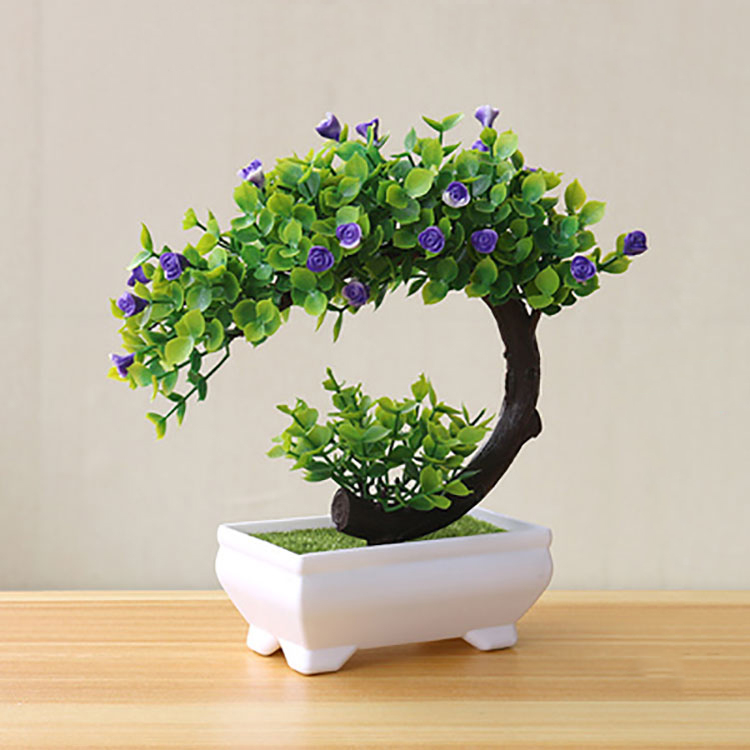 Artificial Bonsai <strong>Tree</strong> Fake Plant Decoration Potted Artificial <strong>House</strong> Plants for <strong>Home</strong> DecorIndoor