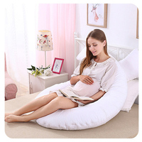 Maternity Organic Side Sleeper Sleeping Full Body Memory Foam Support And Feeding Inflatable U Shape Pregnancy Pillow