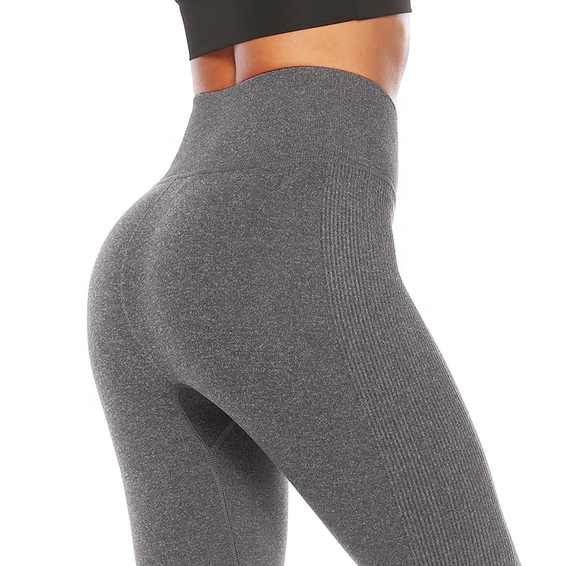 Amazon Le Plus Chaud Vendant Des Femmes Capris Power Flex Course Sexe Leggings D'entraînement Sexy Fille Fitness Yoga Pantalon