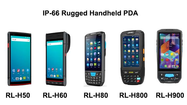 Лучшая цена 2020 Новый 4,5 дюймовый КПК сканер штрих-кода терминал мобильный Android 4G LTE Windows 10 ручной