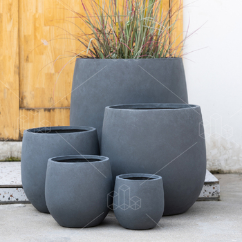 Wholesale Floor Round Large Big Pots For Outdoor Plants