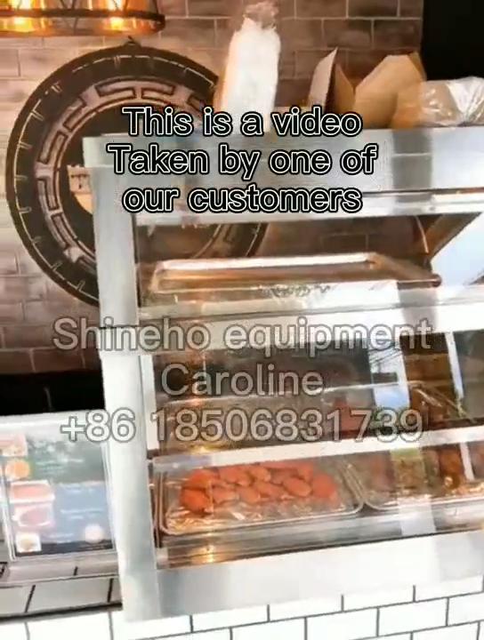 Nhà hàng Thiết Bị Nhà Bếp Miễn Phí Thường Vụ Điện Thực Phẩm Ấm Hơn