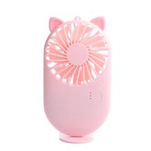2020 вентилятор кондиционера USB охладитель воздуха мини-очиститель увлажнитель воздуха с светодиодный подсветкой перезаряжаемый вентилятор...(Китай)
