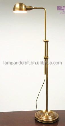 High Quality Round Base Chrome Metal Adjustable Task/desk Lamp For ...