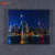 Modern Art Architectural Home Decoration LED Wall Art Night view Picture Painting Canvas