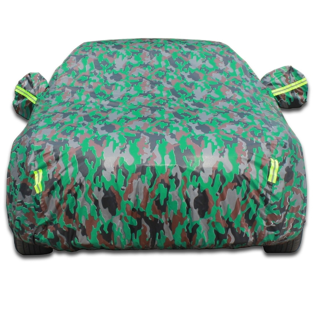 Groothandel Folding Oxford Camouflage Zonnescherm Draagbare Zonneplek Waterdichte Auto Cover