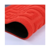 Factory Price Embossed Anti Slip Entrance PVC Area Rug Mat for Home
