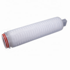PP filter cartridge 20 inch 0.1micron 222 DOE 226 Fin Silicone Oring for Oil& Natural Gas Filtration