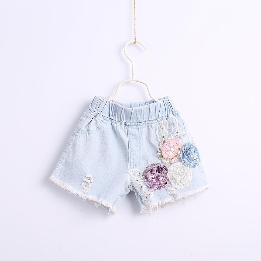 3ba4d1a97e8839d Детские шорты для детей, модные шорты, джинсовые джинсы, одежда для девочек,  летняя