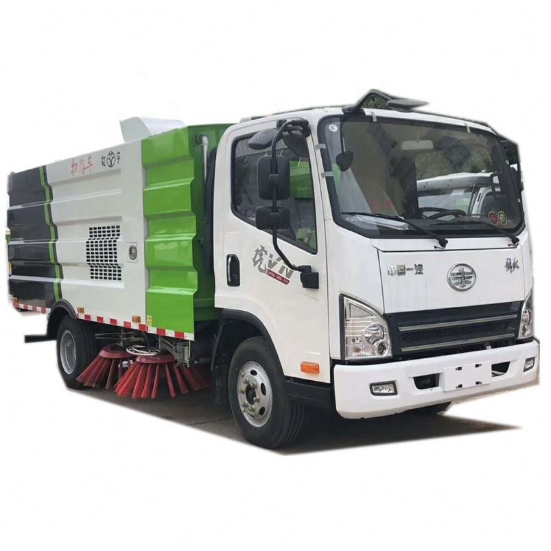 parking lot vacuum sand sweeper sweeping truck for sale