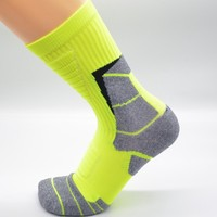 football soccer long sport socks anti-deodorant sweat breathable socks