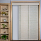 Graceful panel vertical blind curtain