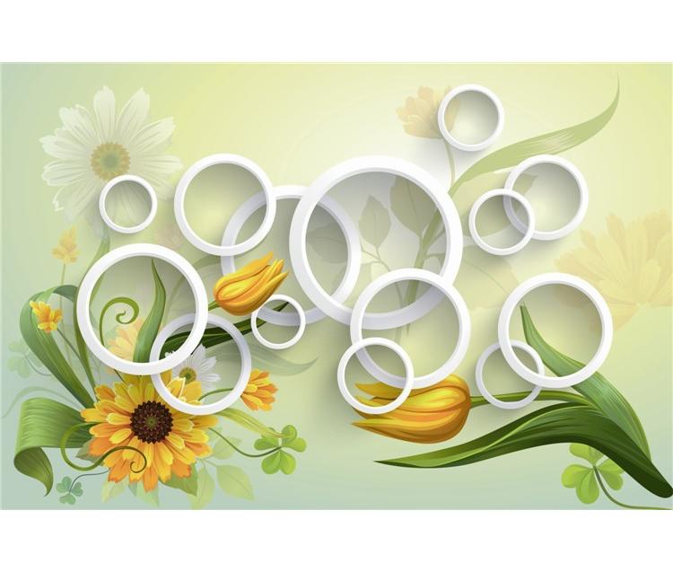 Italian Style Wallpaper 3d Beauty Yellow Flowers Wallpapers Wallpaper For Household Buy Italian Style Wallpaper3d Beauty Yellow Flowers