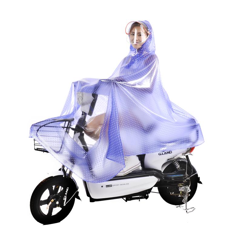 ファッションエコフレンドリーレインウェアウインドブレーカー PVC レインコート