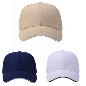 wholesale Custom Golf Cap plain dad hat Men Style Classic Blank 6panel baseball cap