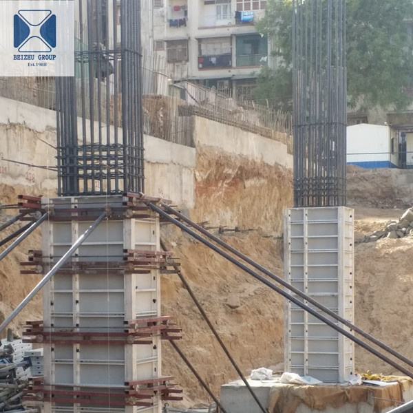 Lightweight pp formwork plastic formwork with more than 60 reusable times