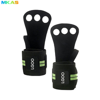 Hot Sale Weight Lifting Grip pads Cross Training Hand Grips Leather
