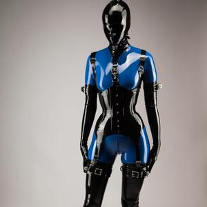 Latex condom suit