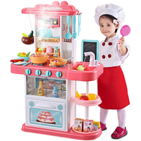 2019 Happy China import toys pretend play sets kids kitchen toy for children