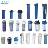 10 20 inch Slim/Big blue Clear water Sediment pre filter housing
