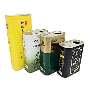 Empty 205Ml /500Ml /750 Ml /1L/3L /5L Olive Oil Greece Packaging Tin Can Wholesale