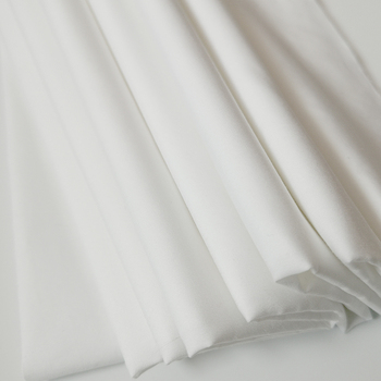 240TC white sateen 100% cotton muslin fabric