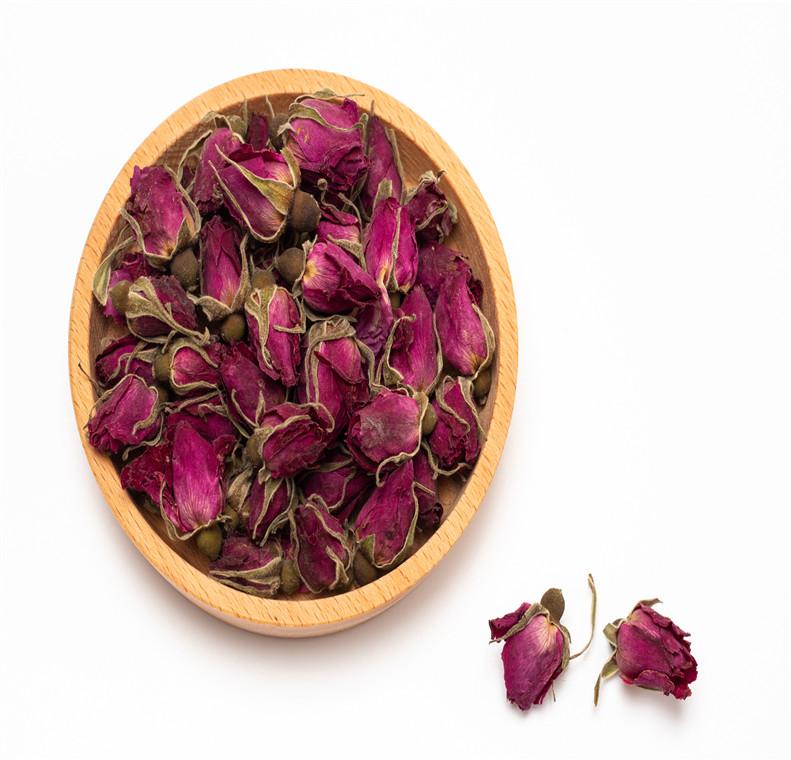 Organic Dried Rose Bud Flower Herbal Tea - 4uTea | 4uTea.com