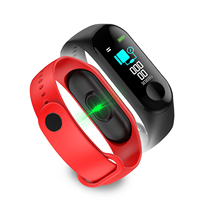 For iphone Android M3 Smart Band with blood pressure Heart Rate Monitor