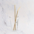 Metal Straw Set Colored Rose Gold Stainless Steel Straw With Brush