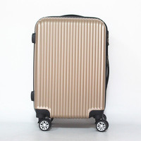 Hot selling Hard case suitcase trolley pc abs travel luggage bag