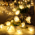 Wedding Decoration 10/20 LEDs Warmwhite Lights Battery Rose Flower Glimmer Bedroom Warm White Holiday String Lights
