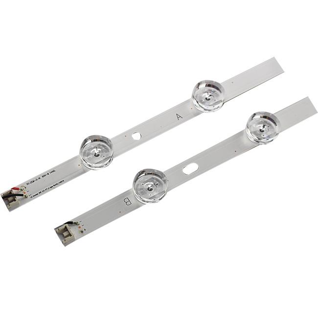 Aluminum PCB 32 inch 7 lens SMD3030 TV replace led strip light dc21v for television back light