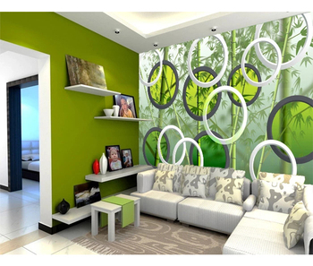 Bamboo Forest Wall Tile Murals