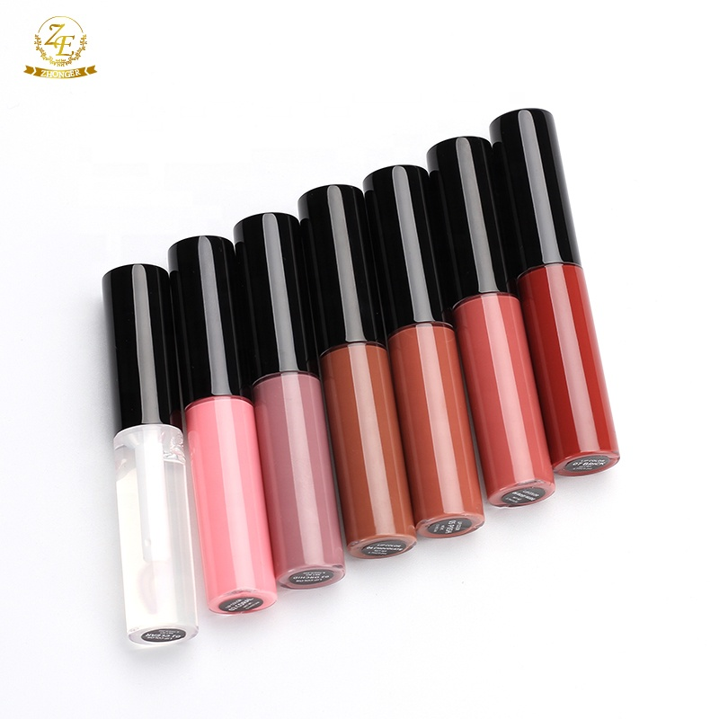 Nieuwe Collectie Custom 7 Kleuren Geen Private Label Glossy Clear lipgloss