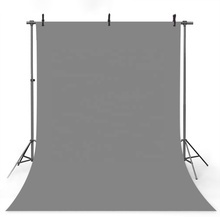 Solid Charcoal Gray Seamless Backdrop Photography Studio Background