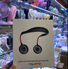 2019 New Wholesale Wearable USB Electric Portable Neckband Hand Free Rechargeable mini Fan with 3
