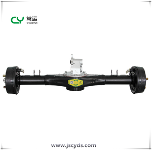 Electric tricycle and car shaft / rear bridge / rear axle