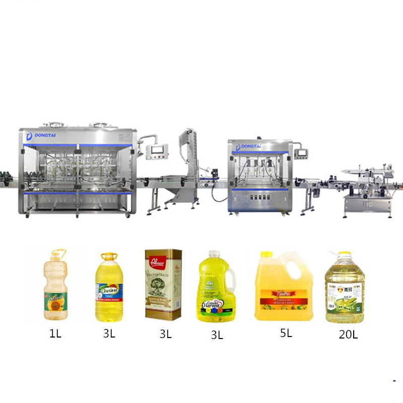 Automatic palm/cooking/edible/olive oil bottle filling machine,oil filling production line