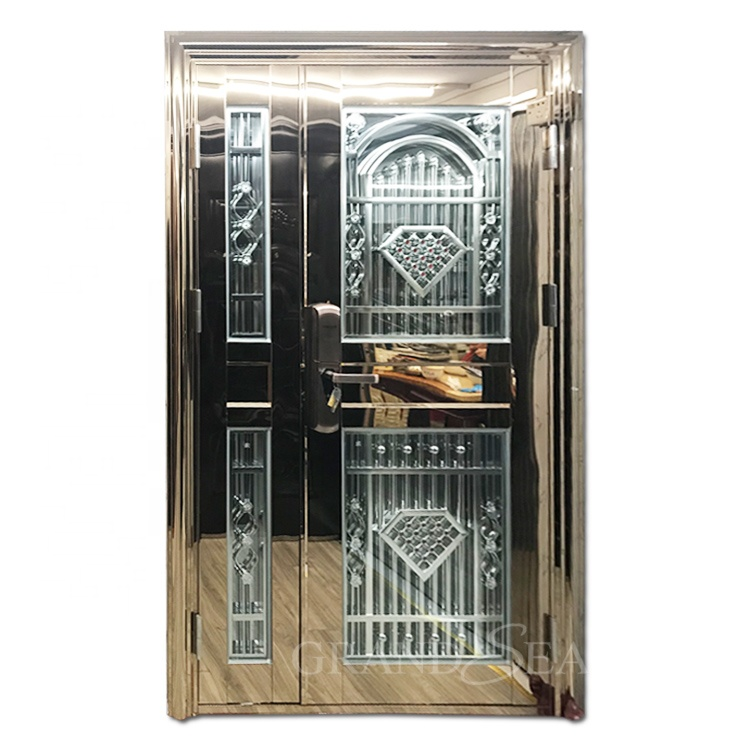 China high quality Superior First- Class stainless steel security <strong>door</strong> design