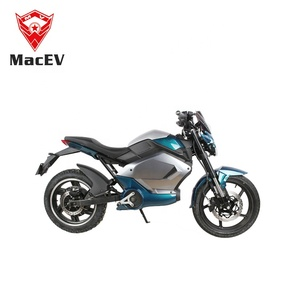 China factory 2000w motor electric motorcycle e scooter bike with bluetooth function and disc brake