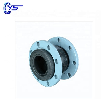 Soft connection single sphere galvanized flange rubber expansion joint/flexible rubber joint from china