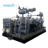14Nm3/h 90KW Water Cooled 6bar Oil Free Reciprocating Piston Booster Compressor Ammonia Gas Compressor
