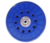 Plastic disc of drywall sander round pad 225mm sanding disc