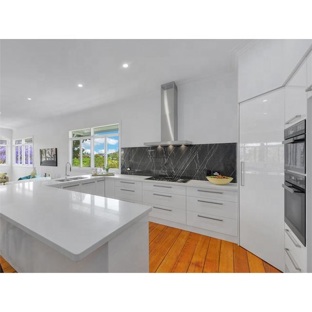 Wholesale high gloss modern modular cabinets kitchen