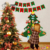 Felt Xmas Tree, Christmas Hanging Tree With Detachable Ornaments
