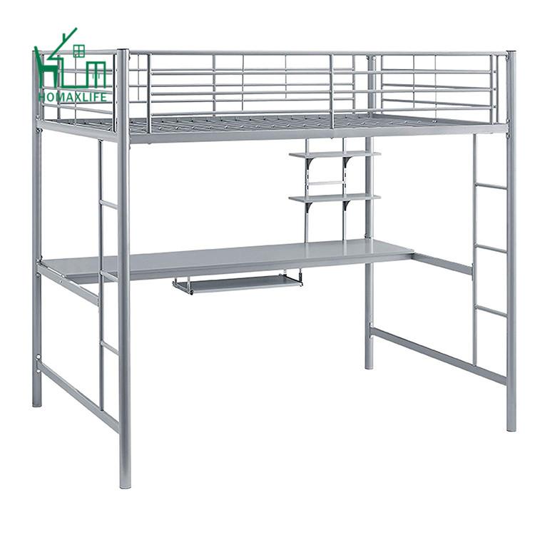 Free Sample Metal Futon Desk Bunk Bed