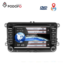 "7"" Autoradio 2Din DVD Sat Nav GPS <span class=keywords><strong>Bluetooth</strong></span> für VW PASSAT POLO GOLF 5 6 TOURAN TIGUAN SKODA Caddy Sharan"