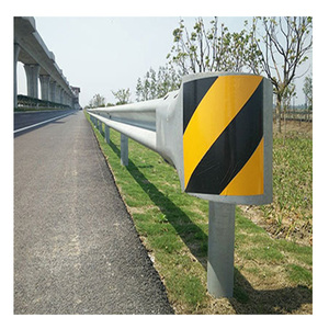 W beam road traffic safe crash barrier 550gzine coated galvanized steel corrugated guardrail for highway